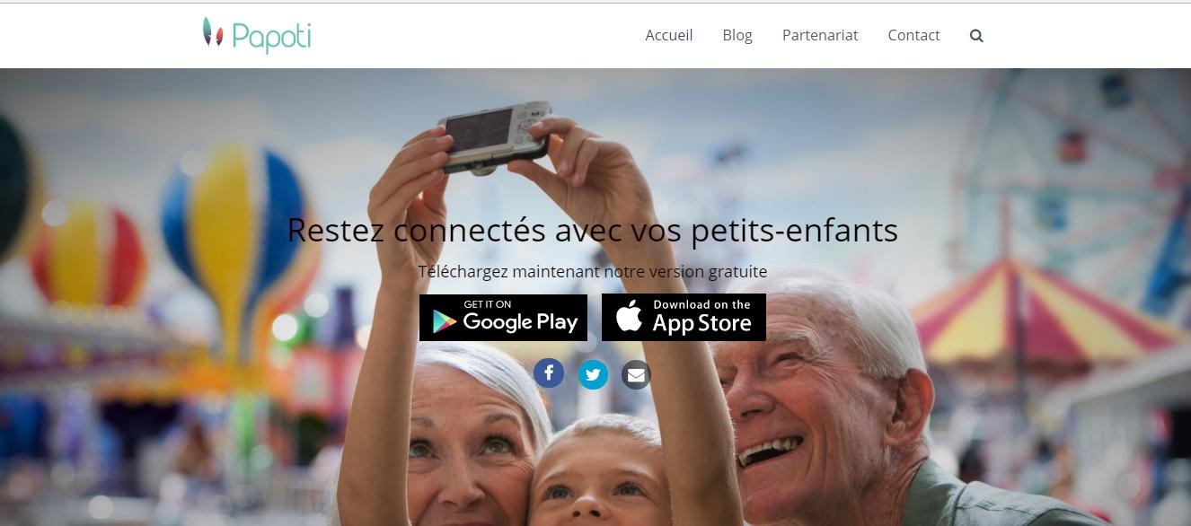 Site web de Papoti