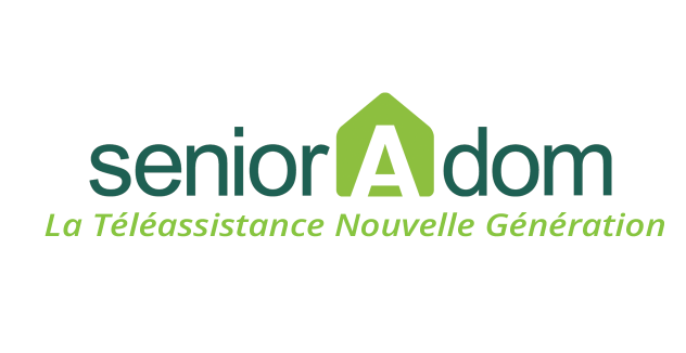 SeniorAdom - Logo téléassistance