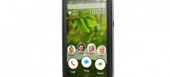 Europ Assistance lance le Géophone, un smartphone équipé en téléassistance